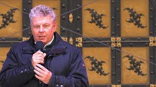 Wählen Sie Martin Schmidt - Wahlkampf Versprecher des Münchner OB Dieter Reiter