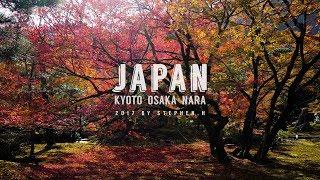 Japan Autumn Tour: Kyoto, Osaka, Nara - 4K (Sony A6500 + Zhiyun Crane M + DJI Mavic Pro)