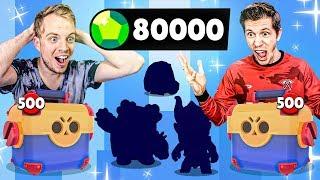 1000x MEGA BOX OPENING BATTLE! $4000 MAXING ACCOUNTS in BRAWL STARS!