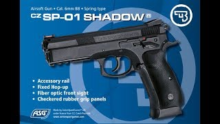 ASG  SP-01 Shadow Купив пістолет в Польщі