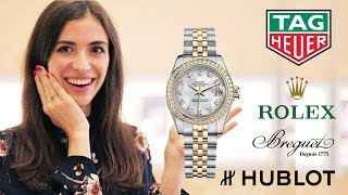 Как произносить названия самых дорогих часов: Rolex, Hublot, Bvlgari и др.