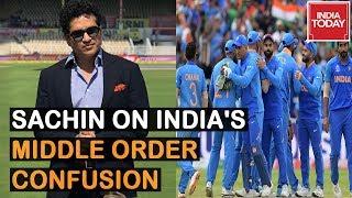 India Vs NZ: Sachin Tendulkar Speaks On Team India's Middle Order Confusion