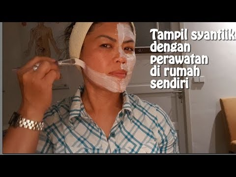 How to use brush to apply facial mask