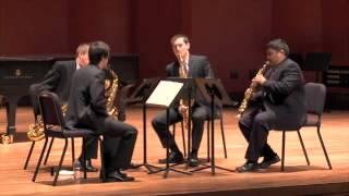 Salleras Quintana: Quartets per a saxos, volum 1, Movement II, Soñando una nana
