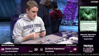 Pro Tour Eldritch Moon Round 16 (Standard): Owen Turtenwald vs. Daneiel Cathro