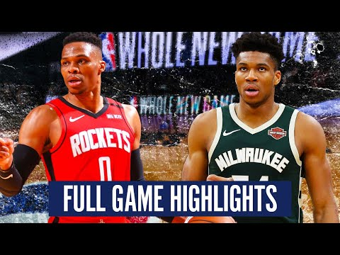 MILWAUKEE BUCKS vs HOUSTON ROCKETS – FULL GAME HIGHLIGHTS | 2019-20 NBA Season