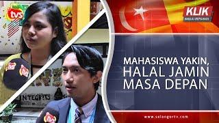 Mahasiswa yakin, halal jamin masa depan