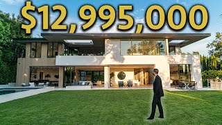 Touring A $12,995,000 LOS ANGELES MODERN MANSION