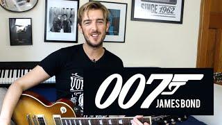 James Bond Theme - Guitar Lesson - Easy Riffs Lesson #4