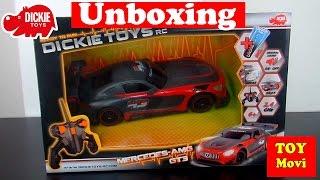 Dickie Toys Rc - Ferngesteuerter Mercedes Amg Gt3 - Spielzeug Auto, Rauch, Sportwagen Rennauto