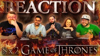 """Game of Thrones 8x2 REACTION!! """"A Knight of the Seven Kingdoms"""""""
