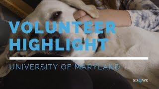 Volunteer Highlight: University of Maryland Puppy Raisers