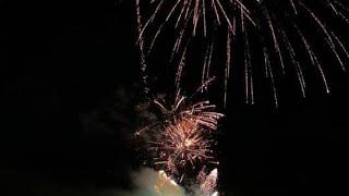 Lake Pleasant Fireworks Epic Finale Thunderstruck DJI Phantom 4 Pro Go Pro Hero 7 America ????????