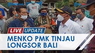 Kunjungi Korban Longsor di Desa Trunyan, Menko PMK Muhadjir Effendy Siapkan Tempat Hunian Sementara