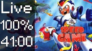 Speed Game: Live 100% Mega Man X En Moins De 41 Minutes !