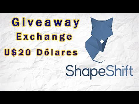 Ganhe Fácil U$20 Dólares apenas com seu Email no Airdrop Shapeshift !