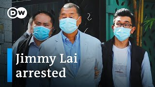 Hong Kong media mogul Jimmy Lai arrested under new security law   DW News