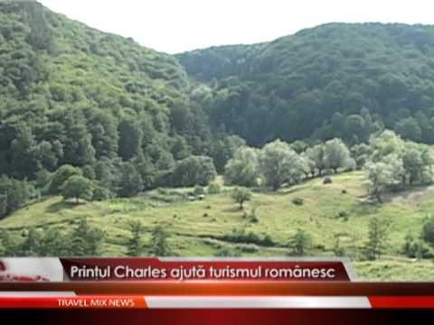 Printul Charles ajuta turismul romanesc