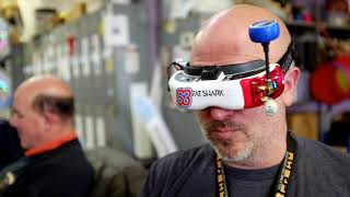 Tiny Whoop FPV Drone Races with Safety Third @ MakeLV