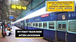1st Train Journey After Lockdown Alleppey Express | Kerala to Chennai | Roadside Ambanis
