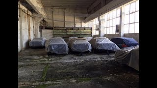 Нашли на Заброшенном складе 11 новеньких BMW E34 5 серии без пробега