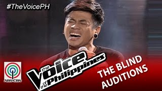 """The Voice of the Philippines Blind Audition  """"Ako Na Lang"""" by Sean Oquendo (Season 2)"""
