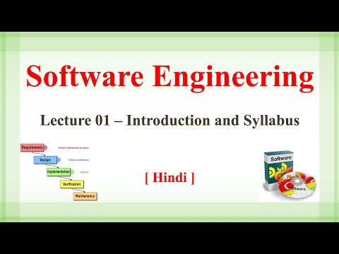 Lecture 1- Introduction & syllabus of software engineering | Software Engineering in Hindi [Hindi]