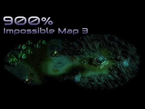 They are Billions - 900% No pause - Impossible Map 3 - Caustic Lands
