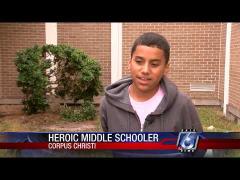 Man-in-manhole teen hero recognized