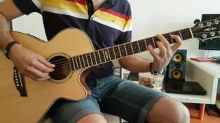 James Taylor Snowtime cover acustic guitar chords accordi chitarra (how to play)