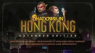 VideoImage1 Shadowrun: Hong Kong - Extended Edition Deluxe