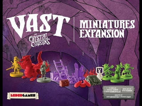 The Purge: # 1850 Vast: The Crystal Caverns: Miniatures Expansion: A quick look at the Miniatures expansion