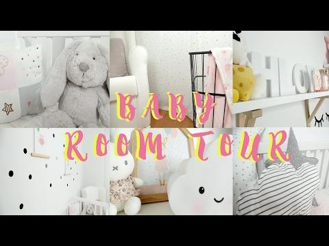 BABY ROOM TOUR I estilo nordico, decoración habitación bebe