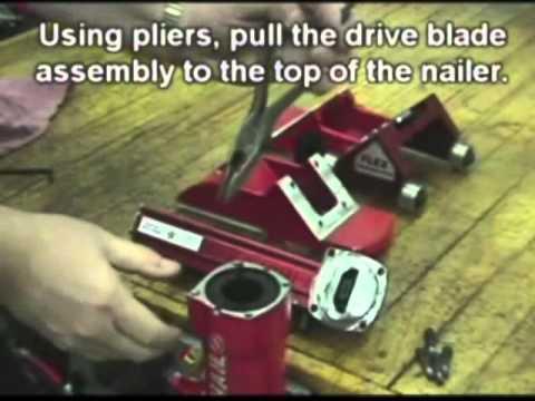 Powernail 50P Flex Roller Conversion Kit Installation Instructions