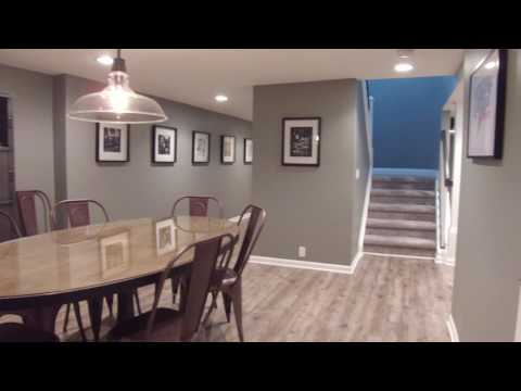 Initially, this basement was partially finished with a poor layout that didn't offer these homeowners the...