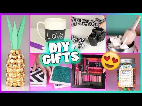 15 DIY Gift Ideas! DIY Gifts & DIY Christmas Gifts & Birthday Gifts for Best Friend, Boyfriend