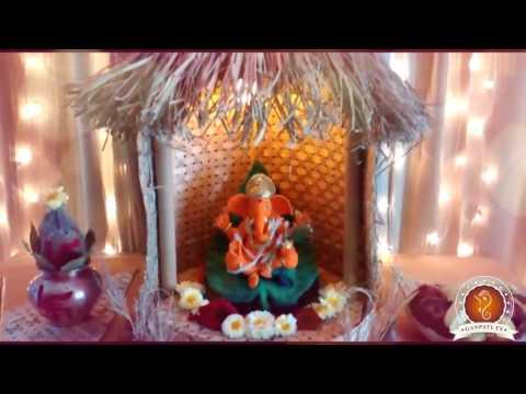 Virendra Nagarkar Home Ganpati Decoration Video