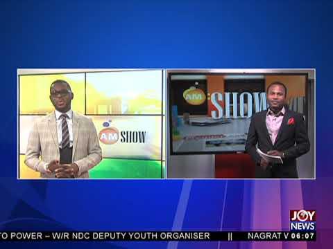 AM Show Intro on JoyNews (2-8-18)