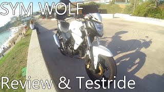 Sym Wolf Review & Testdrive!
