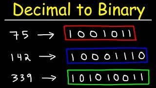 How To Convert Decimal to Binary