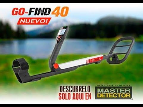 Nuevo Detector de Metales! Go Find 40 de MineLab UNBOX