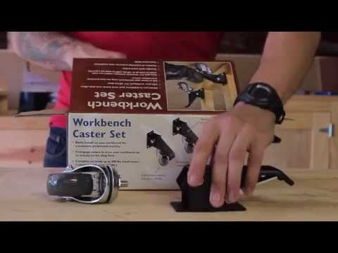 Rockler Workbench Caster Kit by Hosey's Workshop