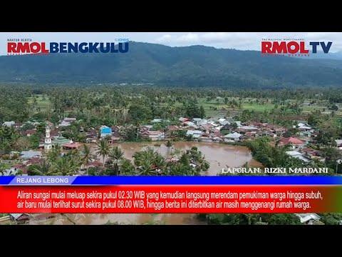 Jelang Puasa, Rejang Lebong Disambut Banjir