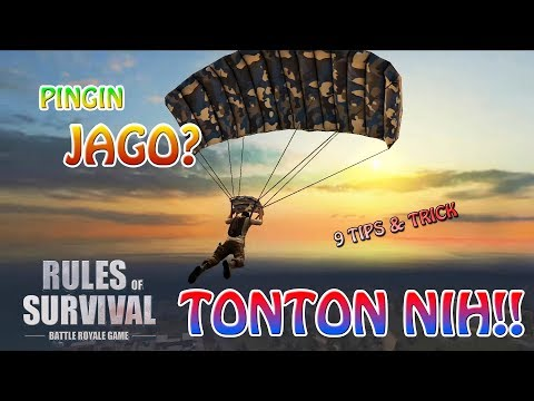 9 TIPS JADI LEBIH JAGO DI RULES OF SURVIVAL