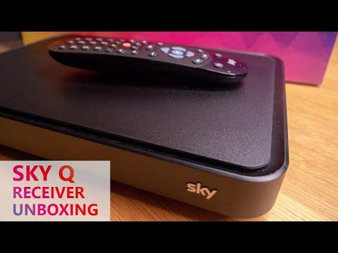 SKY Q 4K Receiver Unboxing (Das neue Sky 2018)