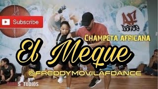 Champeta Africana El Meque Skorpion Disco Show Choreo @freddymovilafdance