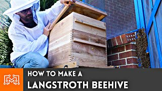 How To Make A Langstroth Beehive  Woodworking