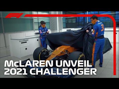 F1 2021 マクラーレン「MCL35M」新型F1マシンをダニエル・リカルドとランド・ノリスが公開する動画