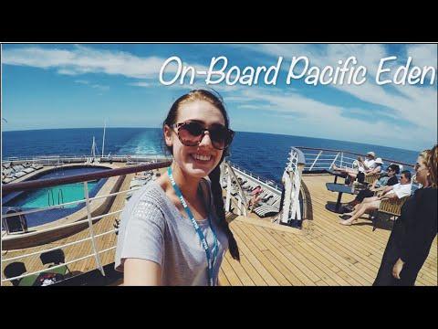 On-Board P&O's Pacific Eden Cruise Ship!