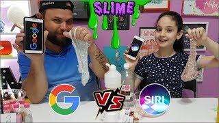 SLIME GOOGLE VS SIRI - QUEM GANHOU?  (VEDA#20)